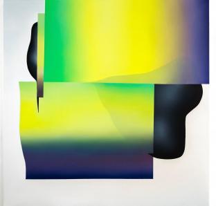 Ena Oppenheimer - REAL REALITY II, Öl auf Leinwand,140 x 140 cm, 2018