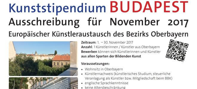 Kunststipendium Budapest