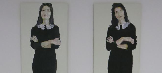 Bea Stroppa - blickdicht I und blickdicht II