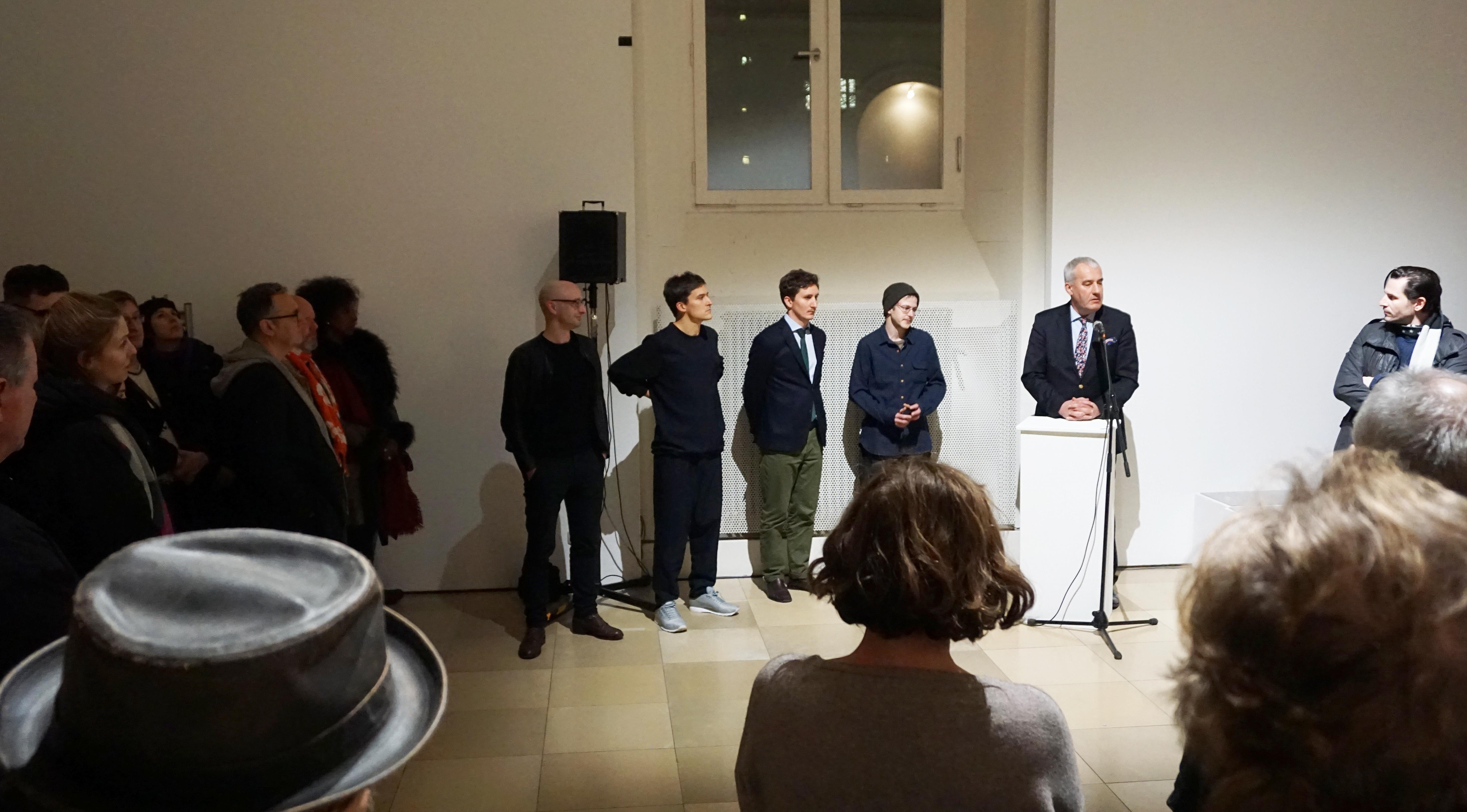 Eröffnung der Bayerischen Kunstförderpreise durch Kultusminister Dr. Ludwig Spaenle